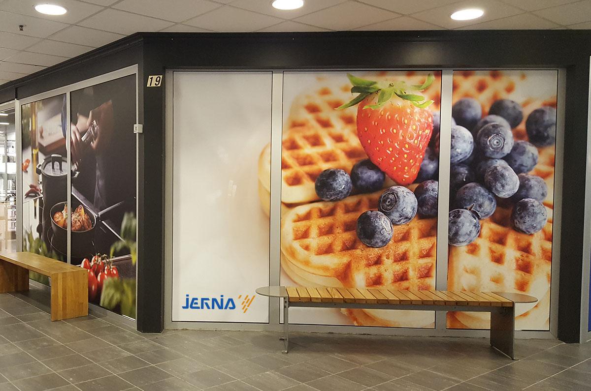 Foliedekor Jernia2 - med logo satt inn